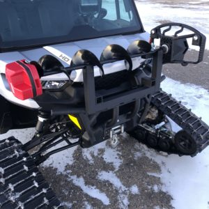 Utv Auger Mount, All Aluminum and Powder Coated