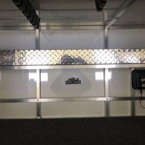 Diamond Plate Front Large Wall Tackle Shelf